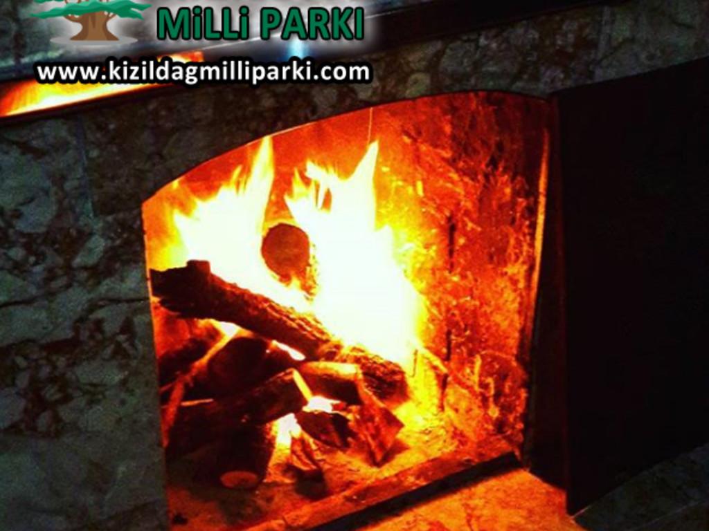 Kızıldağ Milli Parkı - Şömine