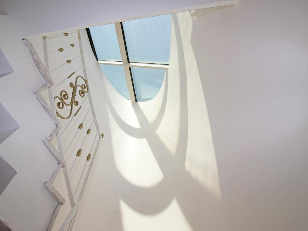 Koridor aydınlatma cam tavan