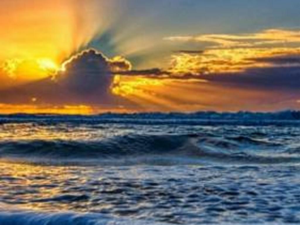 Sunset Lake Worth Beach