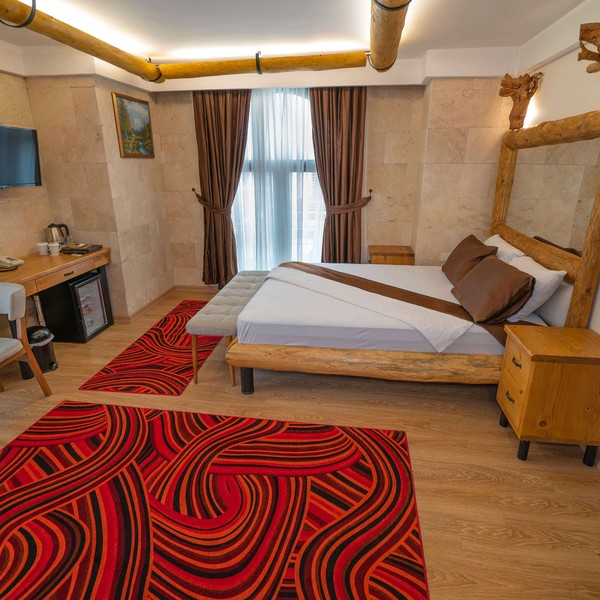Double Deluxe Room - King Yatak