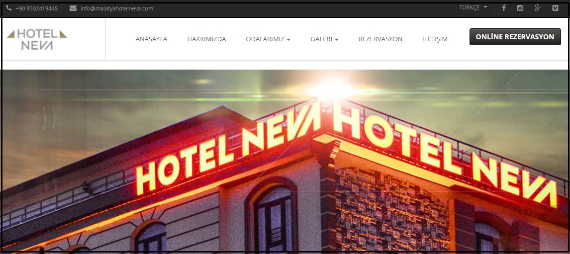Malatya Otel Neva, Ekstra %10 İndirim! En Uygun Otel Fiyatları 2021